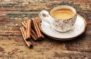 cinnamon with coffee
