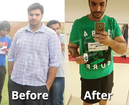 Mohammad Lost 99 lbs
