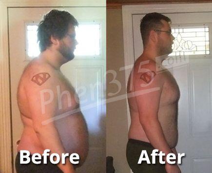 Tristan Lost 25 lbs