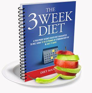 3 week diet book