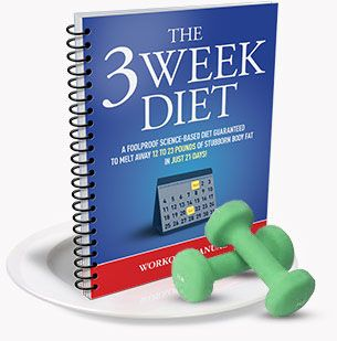 3 week diet exercise