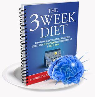 3 week diet mind and motivation