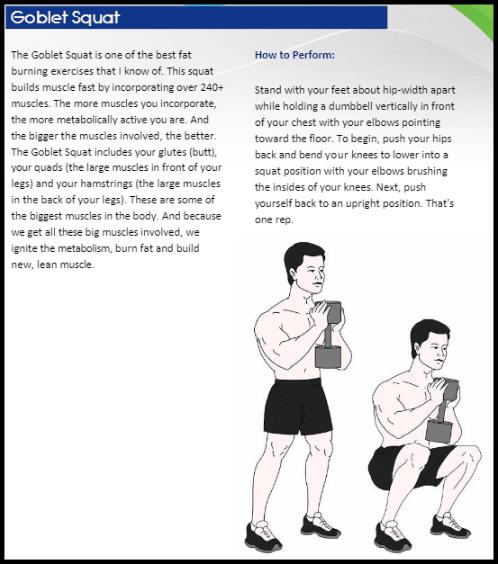 workout 3 week diet