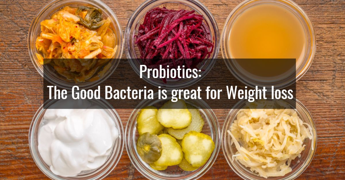 Probiotics: The Good Bacteria Is Great for Weight Loss