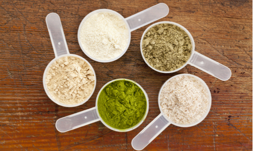 protein powder scoops