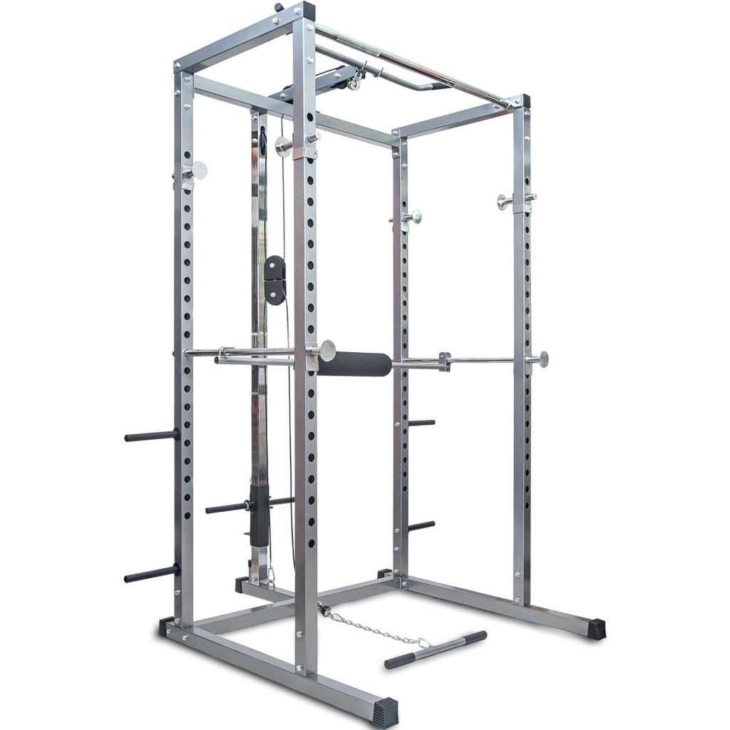 Merax Athletics Fitness Power Rack Olympic Squat Cage